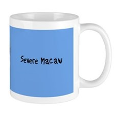 Severe Macaw Mug