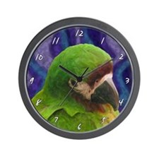 Severe Macaw Clock