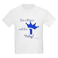 1st Birthday Prince T-Shirt