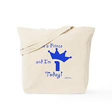 1st Birthday Prince Tote Bag