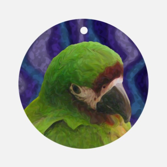 Severe Macaw Oil Ornament