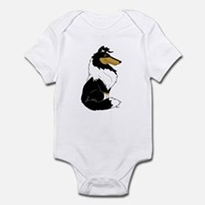 Rough Tricolor Collie Infant Bodysuit