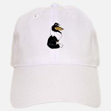 Rough Tricolor Collie Baseball Baseball Cap