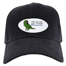 Calling Little Severe Macaw Baseball Hat