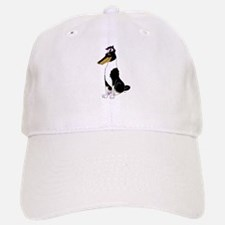 Smooth Tricolor Collie Baseball Baseball Cap