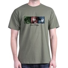 TriColor Art Severe Macaw T-Shirt