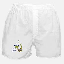 Cool Dude Lizard Boxer Shorts