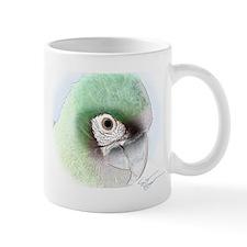 Digital Art Severe Macaw Mug