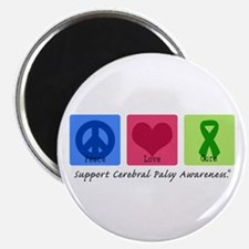 """Peace Love Cure CP 2.25"""" Magnet (100 pack)"""