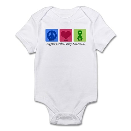 Peace Love Cure CP Infant Bodysuit
