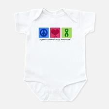 Peace Love Cure CP Infant Bodysuit