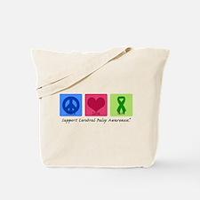 Peace Love Cure CP Tote Bag