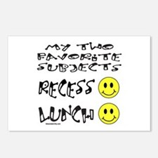 LUNCH AND RECESS Postcards (Package of 8)