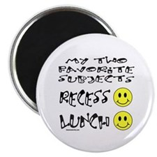 """LUNCH AND RECESS 2.25"""" Magnet (100 pack)"""