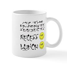 LUNCH AND RECESS Mug