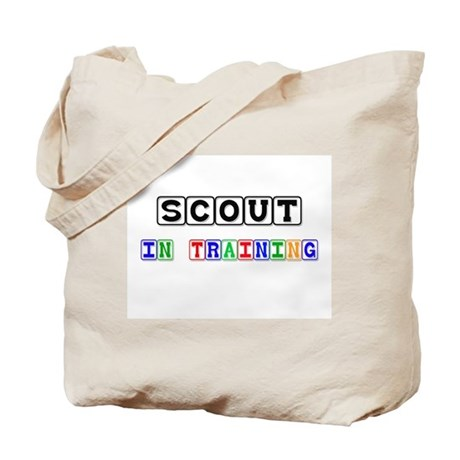 Scout In Training Tote Bag