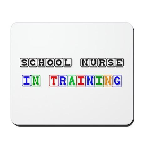 School Nurse In Training Mousepad