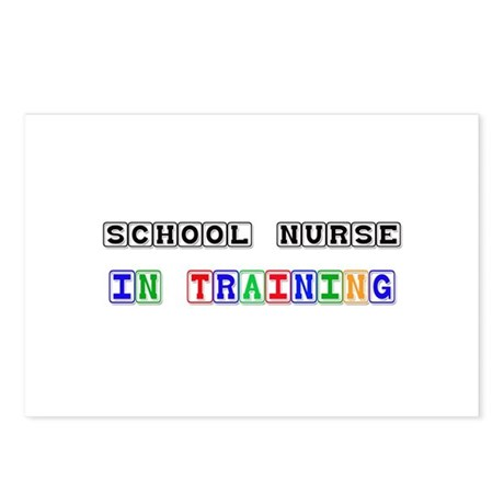 School Nurse In Training Postcards (Package of 8)