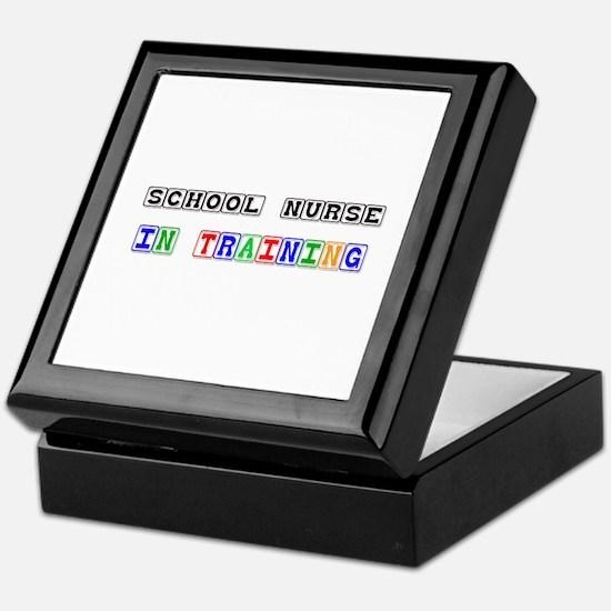 School Nurse In Training Keepsake Box