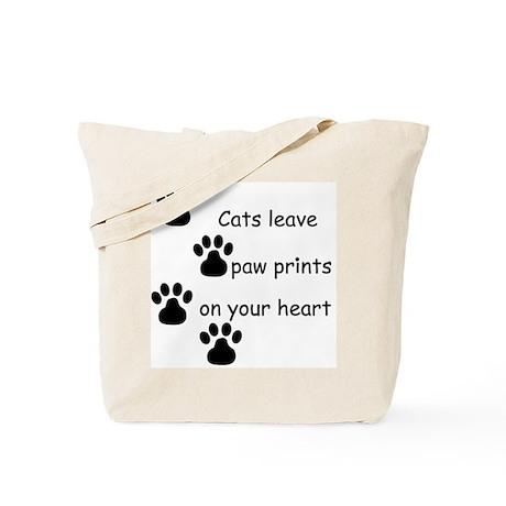 Cat Prints Tote Bag