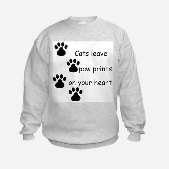 Cat Prints Sweatshirt