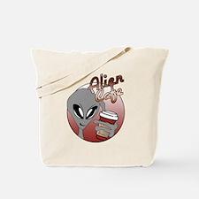 Alien Cafe Tote Bag
