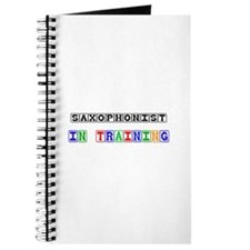 Saxophonist In Training Journal