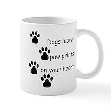 Dog Prints Small Mug