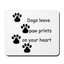Dog Prints Mousepad