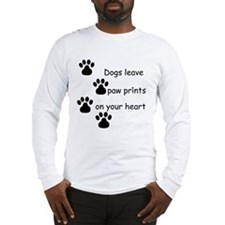 Dog Prints Long Sleeve T-Shirt
