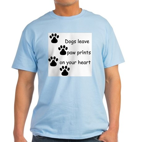 Dog Prints Light T-Shirt