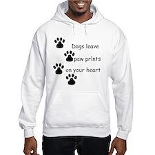 Dog Prints Jumper Hoodie