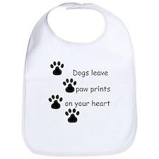 Dog Prints Bib