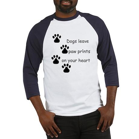 Dog Prints Baseball Jersey