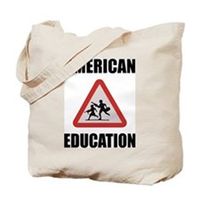 American Education Tote Bag