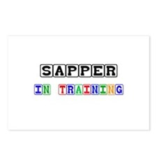 Sapper In Training Postcards (Package of 8)