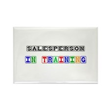 Salesperson In Training Rectangle Magnet