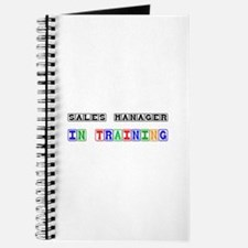 Sales Manager In Training Journal