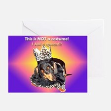 I am a Queen Doxie Greeting Cards (Pk of 10)