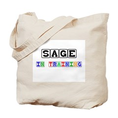 Sage In Training Tote Bag