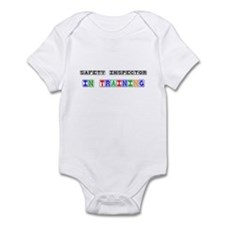 Safety Inspector In Training Infant Bodysuit