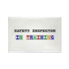Safety Inspector In Training Rectangle Magnet
