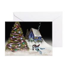 Bun's Winter Wonderland Greeting Cards (Pk of 10)