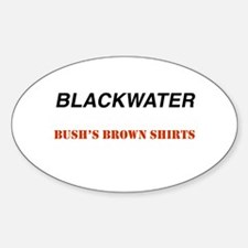 Blackwater Oval Decal