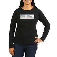 My To Do List T-Shirt