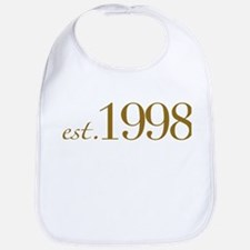 Est. 1998 (10th Birthday) Bib