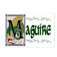 Maguire Celtic Dragon Postcards (Package of 8)