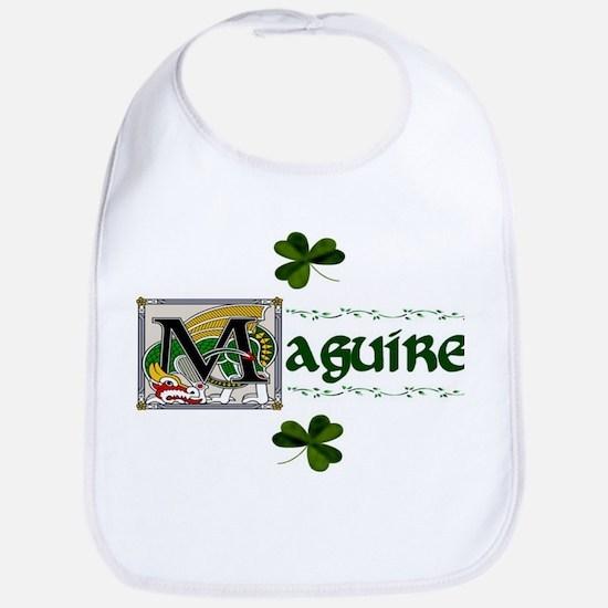 Maguire Celtic Dragon Bib