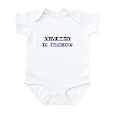 Riveter In Training Infant Bodysuit