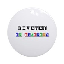 Riveter In Training Ornament (Round)